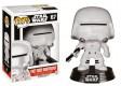 Star Wars POP! Vinyl Wackelkopf-Figur First Order Snowtrooper 10 cm