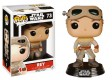 Star Wars Funko POP! Vinyl Wackelkopf-Figur Rey with Goggles 10 cm